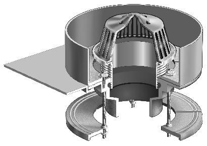 R1100 Rs Series Condensate Receptor Drains