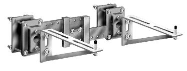 Mc 55 Series Exposed Arms With Adjustable Surface Plate